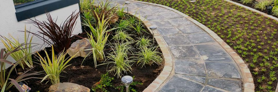 Your garden  professionally landscaped